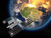 Estación espacial internacional Imagenes de archivo