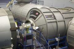 Estación espacial internacional HARMONY Mockup en NASA Johnson Space Fotos de archivo libres de regalías