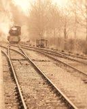 Estación inminente del motor de vapor Imagenes de archivo