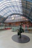 Estación internacional de St Pancras en Londres Fotos de archivo