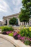 Estación Kansas City Missouri de la unión Foto de archivo libre de regalías