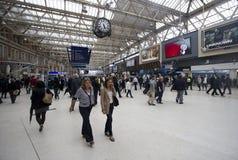 Estación Londres de Waterloo Foto de archivo