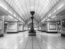 Estación Londres Undergroumd de la colina de Gants Imagen de archivo