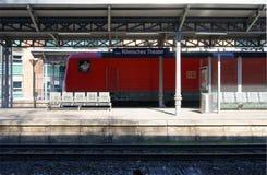 Estación Maguncia Foto de archivo