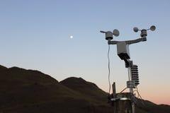 Estación meteorológica Imágenes de archivo libres de regalías