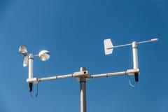 Estación meteorológica Fotografía de archivo libre de regalías