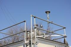Estación meteorológica Imagen de archivo libre de regalías