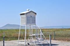 Estación meteorológica del aeropuerto Fotografía de archivo libre de regalías