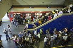 Estación metropolitana Foto de archivo