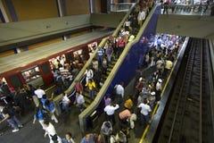 Estación metropolitana fotos de archivo libres de regalías