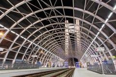 Estación moderna grande de la tranvía Fotos de archivo libres de regalías
