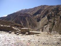 Estación Paquistán de la colina de Shogran Foto de archivo libre de regalías
