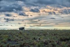 Estación pasada en el extremo del mundo Fotografía de archivo