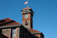 Estación Portland Oregon de la unión imagen de archivo