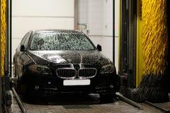 Estación que se lava del coche Imagen de archivo libre de regalías