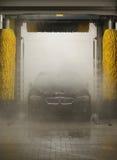 Estación que se lava del coche Imagen de archivo