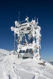 Estación que transmite congelada Foto de archivo