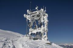 Estación que transmite congelada Fotografía de archivo libre de regalías