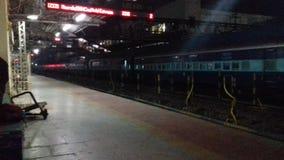 Estación raiway del dhanbad de la India foto de archivo libre de regalías