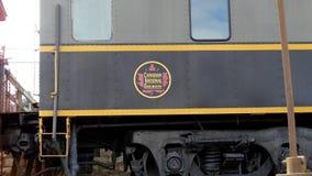 Estación restaurada ferrocarril nacional canadiense metrajes