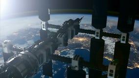 Estaci?n espacial internacional ilustración del vector