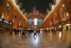 Estación central magnífica en NYC Imagenes de archivo