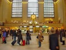 Estación central magnífica Nueva York Fotografía de archivo libre de regalías