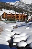 Estación de esquí Imagen de archivo