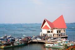Estación de Koh Loi Water Transportation Foto de archivo libre de regalías