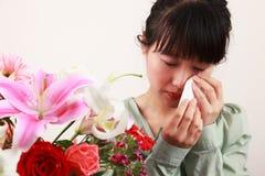 Estación de la alergia Imagen de archivo libre de regalías