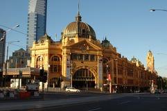 Estación de la calle del Flinders (iv) Imágenes de archivo libres de regalías