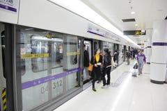 Estación de metro de Shangai Fotografía de archivo