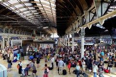 Estación de Paddington, Londres, Inglaterra Imágenes de archivo libres de regalías