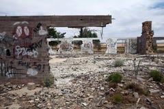 Estación de servicio abandonada, Utah Imagenes de archivo