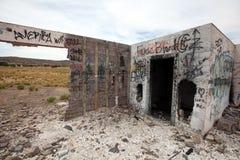 Estación de servicio abandonada, Utah Fotos de archivo libres de regalías