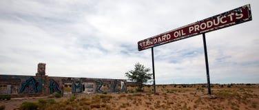 Estación de servicio abandonada, Utah Imágenes de archivo libres de regalías
