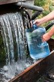 Estación de servicio del agua Foto de archivo