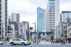 Estación de Shiodome en Tokio, Japón Imagen de archivo libre de regalías