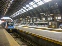 Estación de tren de Retiro - Buenos Aires la Argentina Imágenes de archivo libres de regalías