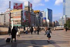 Estación de tren de Sendai Imágenes de archivo libres de regalías