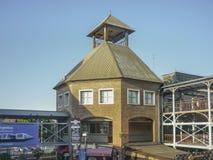 Estación de tren en Buenos Aires la Argentina Foto de archivo