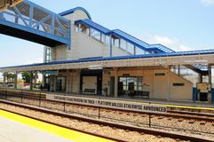 Estación de tren, FL Imagen de archivo