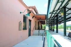 Estación de tren, la Florida del sur Imágenes de archivo libres de regalías