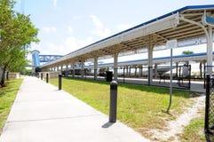 Estación de tren, la Florida del sur Fotografía de archivo