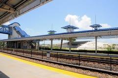 Estación de tren, la Florida del sur Imagen de archivo libre de regalías
