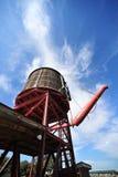 Estación del agua del ferrocarril Foto de archivo libre de regalías