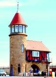 Estación del guardacostas, Scarborough. Fotos de archivo