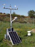 Estación meteorológica Imagenes de archivo