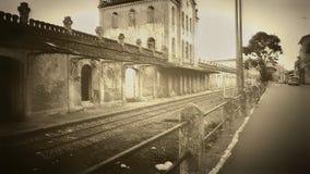 Estacion. Abandoned reliques royalty free stock images