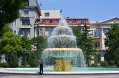 Estaciona a cidade do PF Baku Fotografia de Stock